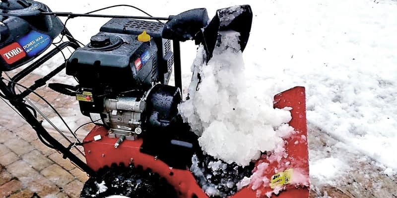 How-To-Keep-A-Snow-Blower-From-Clogging-Sticky-Chute-Fixes