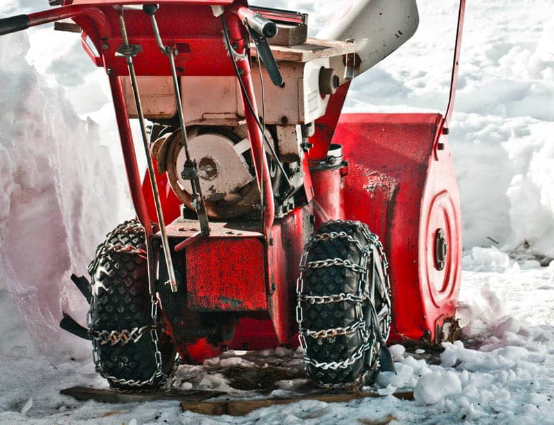 How To Measure For Snow Blower Tire Chains