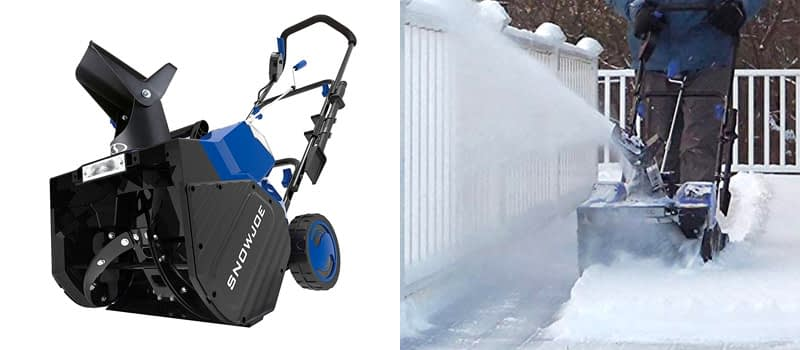Best Cheap Single Stage- Snow Joe 18 Inch Single Stage Snow Thrower
