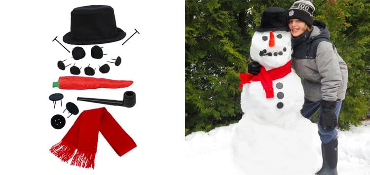 5. Evelots My Very Own Snowman Kit