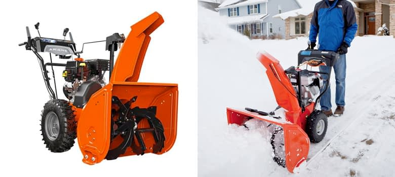 Best Two Stage: Ariens ST24LE Deluxe Two Stage Snow Blower