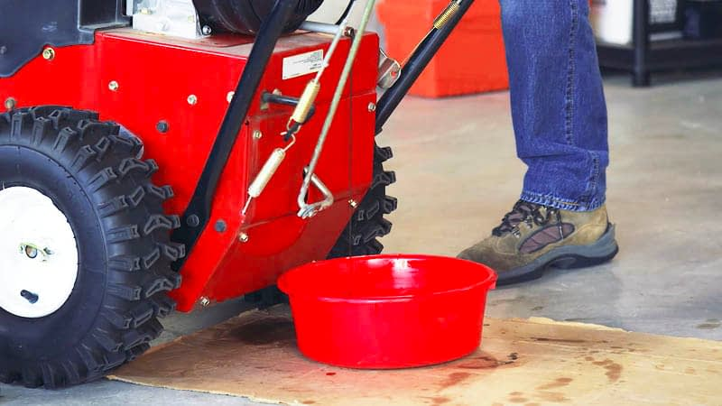 How To Change Oil In A Snow Blower