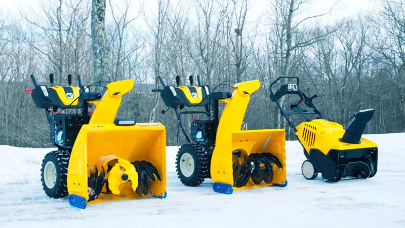 Different Types Of Snow Blowers