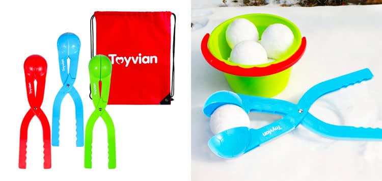 2. 3 Pack of Snowball Makers