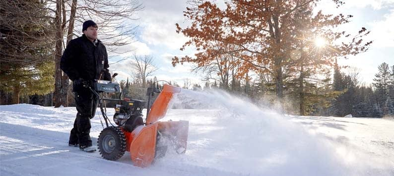 Here is a break down for the best time to buy a snow blower.